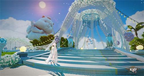 无论富贵贫穷我愿意《天谕》海岛风情西式婚礼曝光
