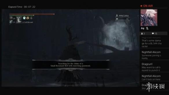 玩家发现《血源诅咒》迷宫隐藏boss 544级被一击秒杀!