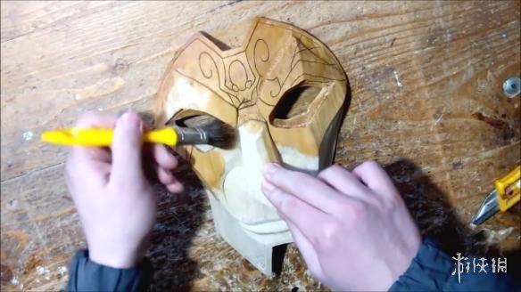 打造 LOL 戏命师面具 成品超级精美
