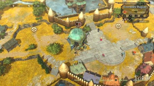 《二之国2:亡魂之国》全新4k截图 吉卜力工作室人设 城镇建设