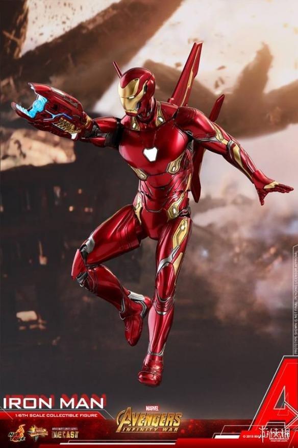 复仇者联盟3 无限战争 同款钢铁侠模型 更炫酷 更先进 更流弊