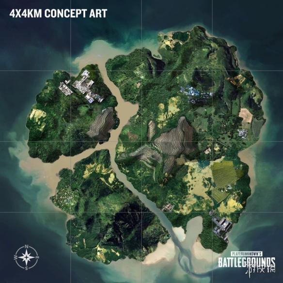 《绝地求生大逃杀》4km*4km新地图下周上线 具体测试时间公布!