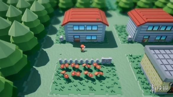 国外粉丝用虚幻引擎重制《口袋妖怪》3D立体的小镇显得栩栩如生!