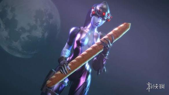 大神绘制《守望先锋》3D同人图 黑百合爱吃粗面包棍 大神绘制《守望先锋》3D同人图 黑百合爱吃粗面包棍