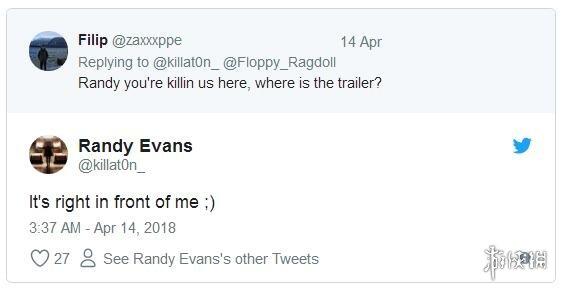 "DICE高管推特回答玩家提问 暗示《战地5》的预告片""快要来了"""