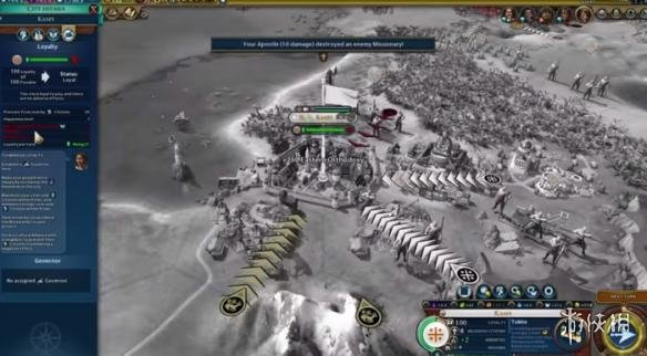 《文明6》春季最新更新公布 调整忠诚度和战争系统 《文明6》春季最新更新公布 调整忠诚度和战争系统