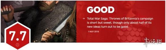 《全面战争传奇:大不列颠王座》获IGN7.7分想法很棒!