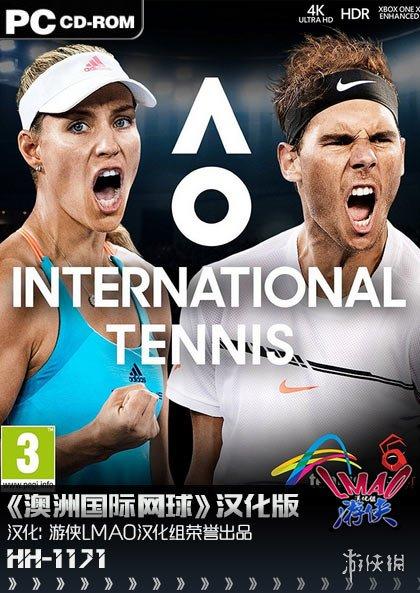 体育竞技游戏《澳洲国际网球》游侠汉化补丁宣布!
