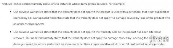 被正告后索尼改动主机保修条例 还供给免运费办事! 被正告后索尼改动主机保修条例 还供给免运费办事!