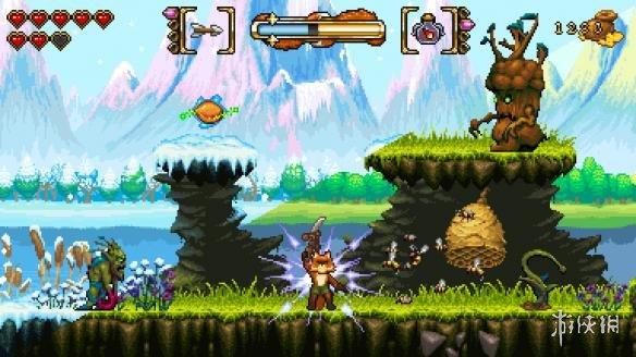 16位风格闯关冒险《狐狸森林》现已上架Steam平台!