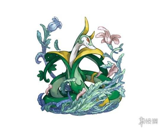 精灵宝可梦小岩蛇图片