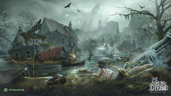 克鲁苏主题游戏《沉没之城》诡异E3展先导预告公布
