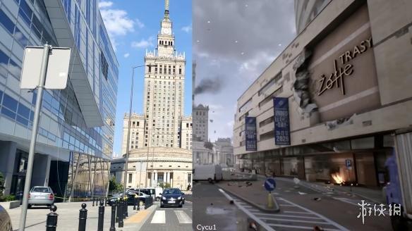 超还原!《第三次世界大战》游戏画面/现实对比视频