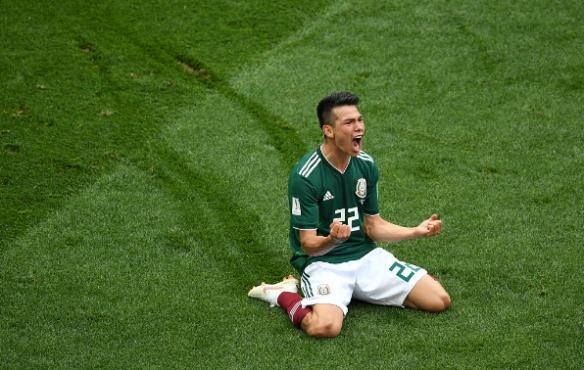 2018俄罗斯世界杯冷门之夜!卫冕冠军德国0-1不敌墨西哥遭开门黑图片