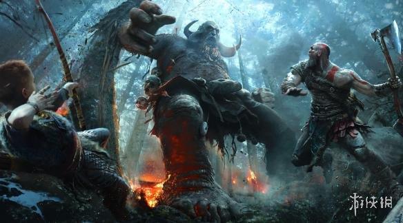 《战神》新作超精美原画公布 呈现游戏震撼场景设定