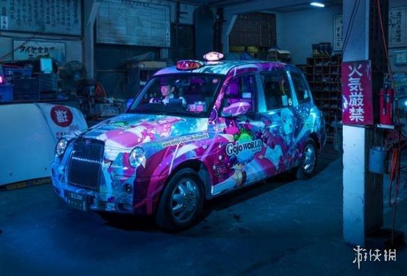 日本公司打造美少女角色痛出租车 花35万却没法上路