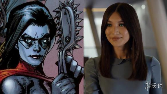 华裔女演员嘉玛·陈晒《惊奇队长》米涅瓦博士造型