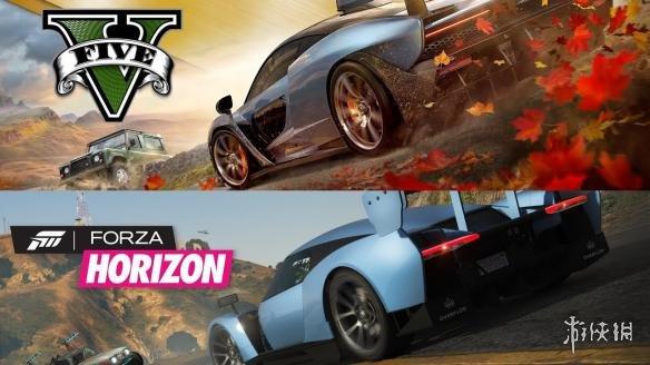 粉丝用《GTA5》完美还原《极限竞速:地平线4》E3预告片!逐帧还原,相当走心