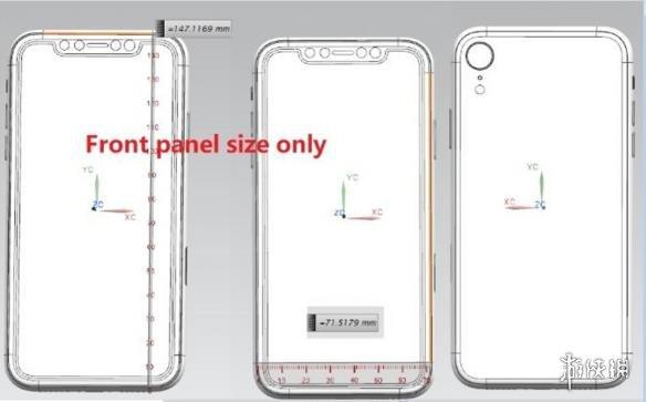 2018款iPhone前面板曝光:共3款 刘海屏搭载LCD屏幕