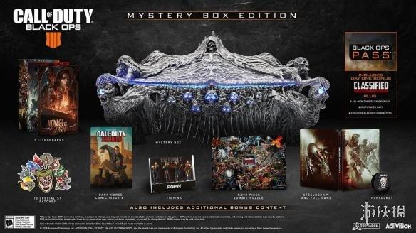 《使命召唤15:黑色行动4》神秘盒版内容公布 发光骷髅恐怖感十足!