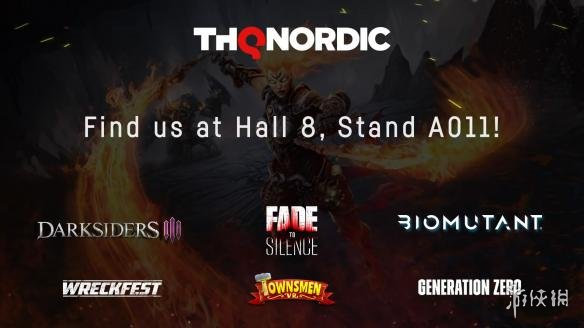 因看世界杯而未到E3的THQ Nordic将高调参展科隆展