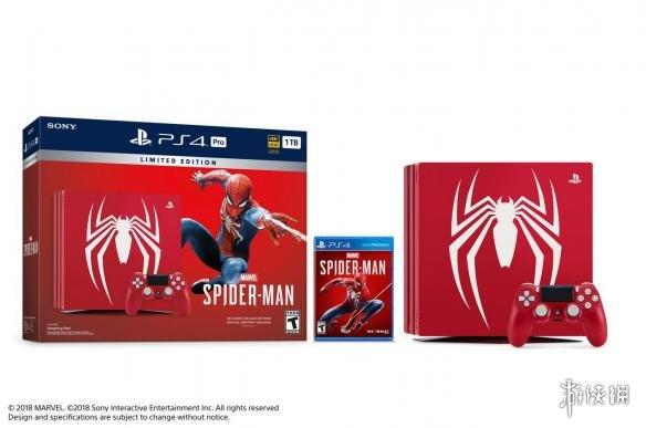 《漫威蜘蛛侠》推出限定版PS4 Pro主机 预购奖励公布