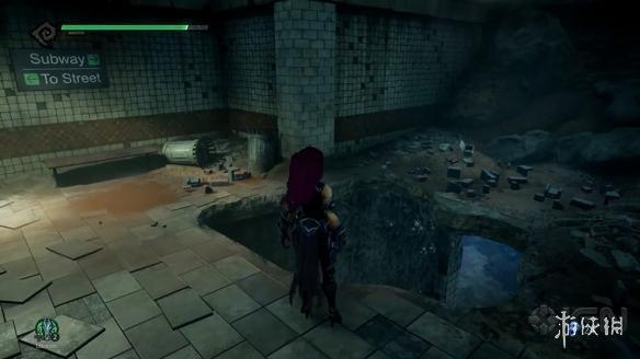 《暗黑血统3》5分钟新演示 Fury女神硬派环境解谜!