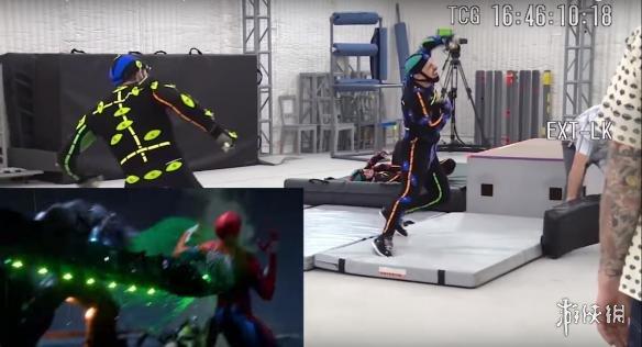 《漫威蜘蛛侠》最新视频展示游戏的建模过程以及动作捕捉过程