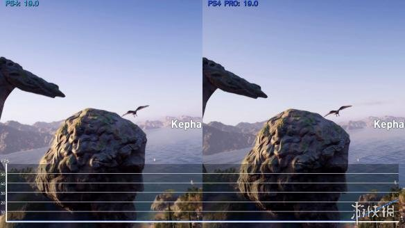 《刺客信条:奥德赛》PS4和PS4 pro画面、帧数对比 无明显差别