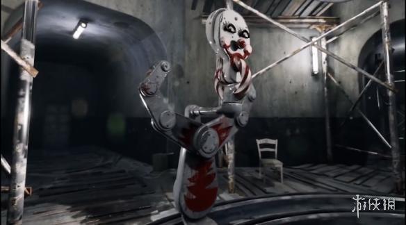 前方高能!恐怖射擊游戲原子之心新片段 驚悚小丑陷阱曝光