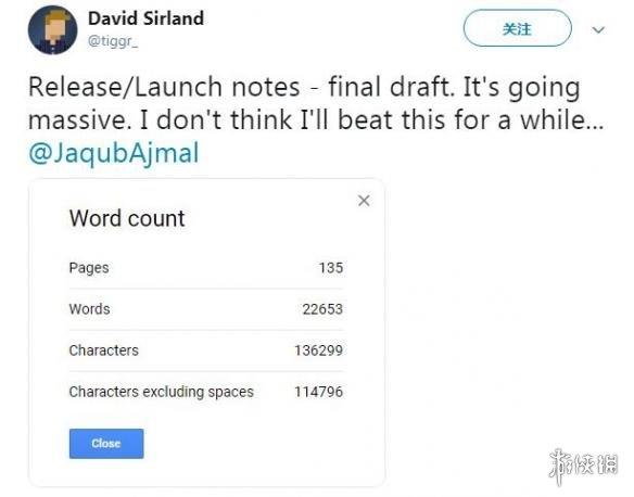 《战地5》发售日文档信息将长达135页 包含22,653个英文单词!