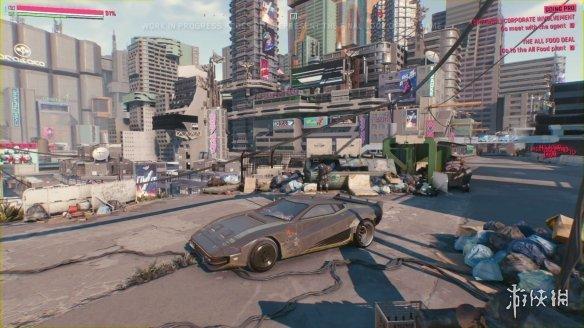 赛博朋克2077主地图