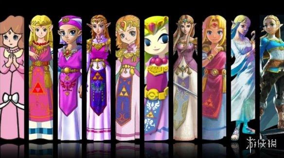 """谁最美?岛国游戏社区话题""""历代塞尔达公主谁最美"""""""