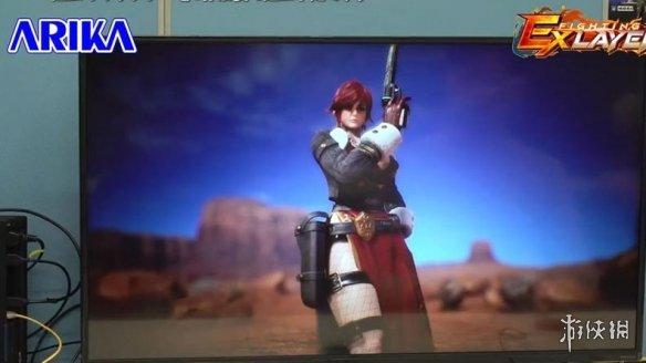 Arika宣布《格斗领域EX》下个DLC角色莎伦3月推出