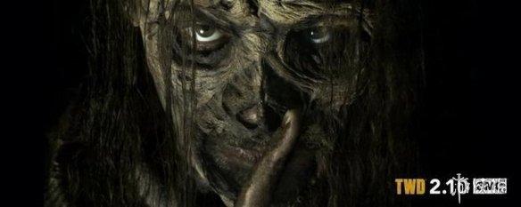 《行尸走肉》第九季新海报 低语者领袖戴死人脸面具