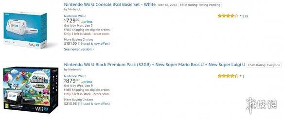 Wii U 8GB基础版涨价至5000多元 各路奸商嗅到商机