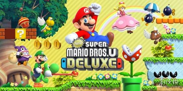 《新超级马里奥兄弟U豪华版》新演示视频发布!经典玩法双人合作更有趣!