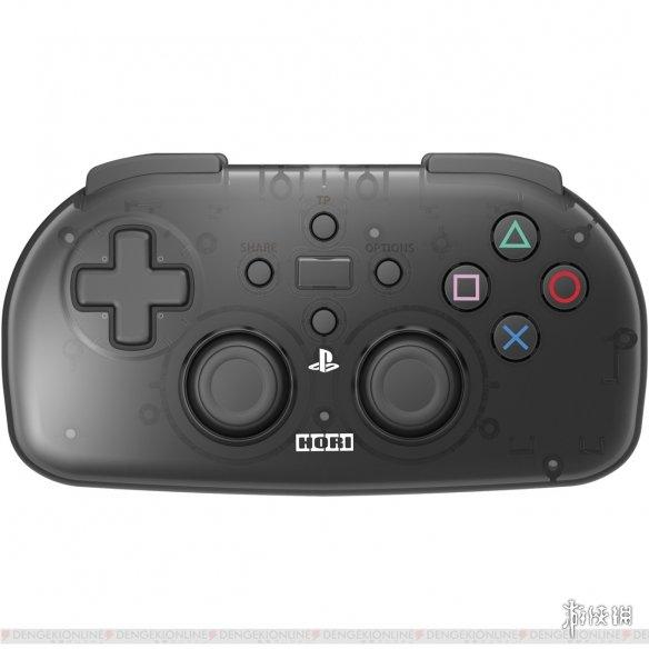 著名手柄外设商HORI打造PS4无线迷你手柄 透明红黑两色将于今冬推出