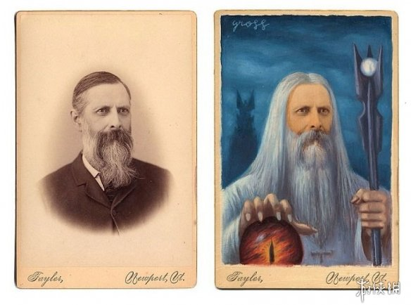 大神将老照片打造成了超级英雄 19世纪的小虫超帅!