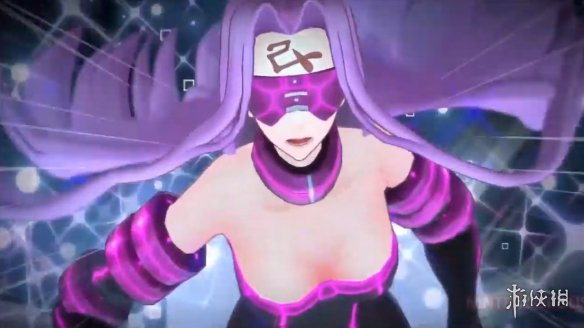 NS《Fate/EXTELLA LINK》美杜莎演示 身材完美的紫发御姐