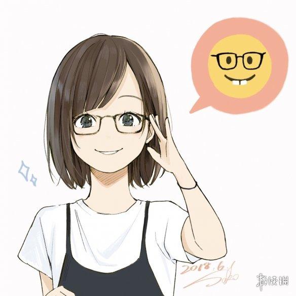 超可爱!小姐姐都笑哭了!日本画师绘萌妹版emoji