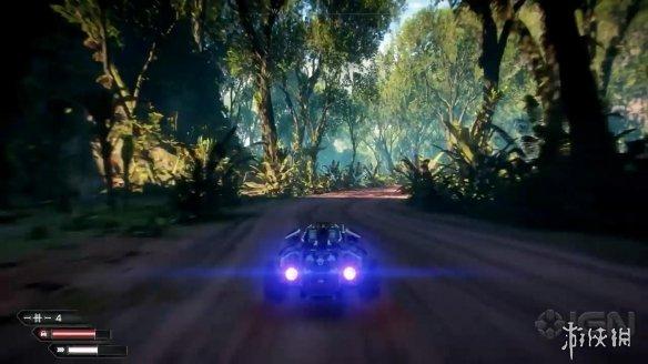 《狂怒2》新实机演示公布 强力科幻武器战斗