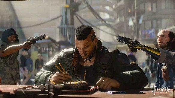 他表示,虽然《赛博朋克2077》仍然有cdpr之前游戏中的元素,例如