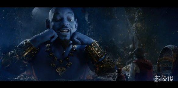 见过蓝皮的猛男向你卖萌吗?《阿拉丁》新TV预告