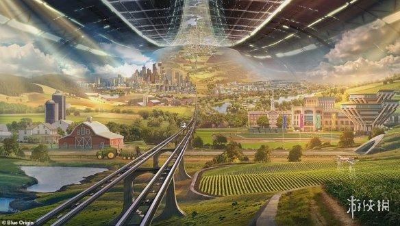 全球首富贝佐斯太空殖民愿景:自给自足的太空旋转栖息地