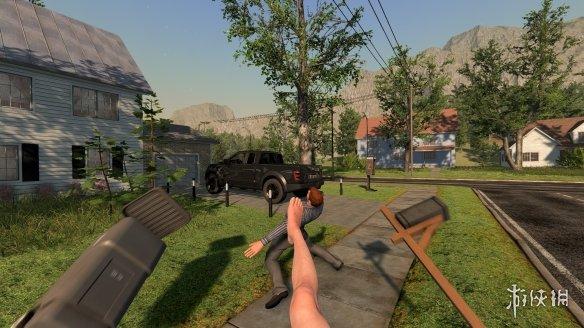 惊了!Steam惊现《手冲模拟器》 主角打飞机四处搞破坏!