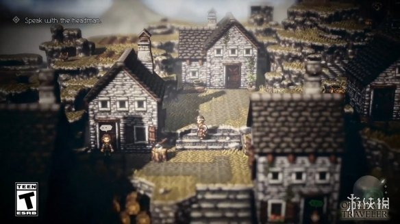 JRPG新�p峰八方旅人,Steam中文版�l售在即