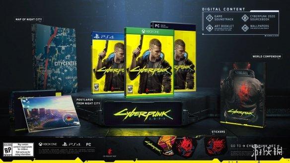E3:《赛博朋克2077》曝预购福利 超酷武士项链、威猛男神铁盒新装超帅!