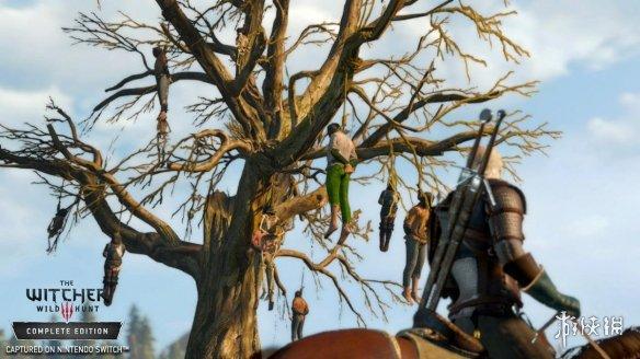 《巫师3》官方发布游戏Switch版实机截图 快来看看移植后是什么模样!