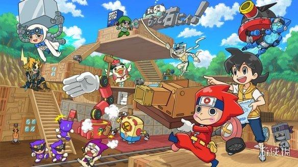 创造秘密基地游戏《忍者宝盒》繁体中文版12.26发售
